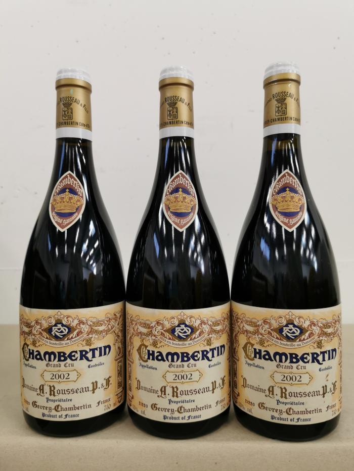Chambertin Rousseau 2002